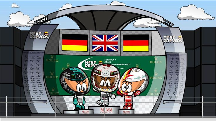 77 best images about f1 tooned on Pinterest