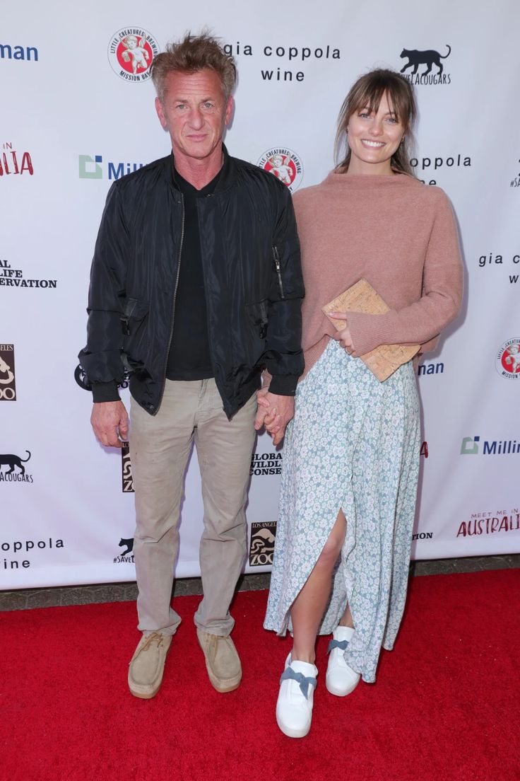 Sean Penn and Leila had a date night for a good