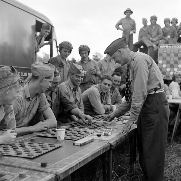 """Checkers And Soldiers"" 