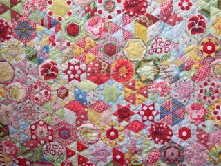 Liz's Candied Hexagons
