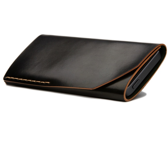 iPhone 5 Wallet black by Bison Made