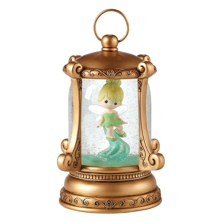 Disney's Tinker Bell Let Your Sparkle Shine Light-Up Musical Snow Globe, Multicolor