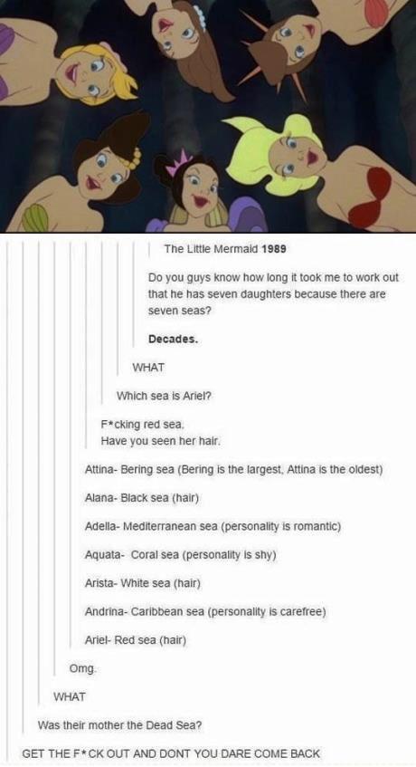 Ariel & her sisters ♥️