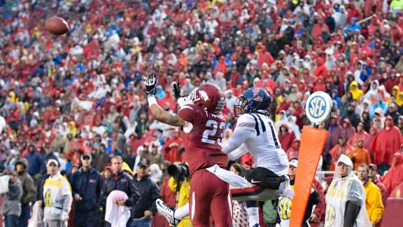 arkansas football beats ole miss | Ole Miss Football - Rebels News, Scores, Videos - College Football ...