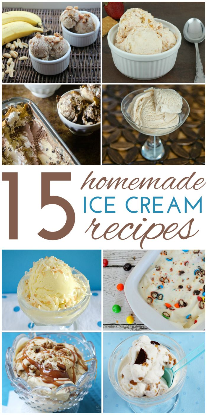 Diese 15 hausgemachten Eiscreme-Rezepte sollen Sie und die Kinder …   – Satisfying the Sweet Tooth