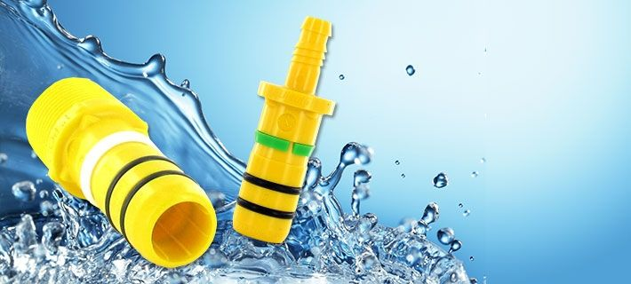 Blazing Fast Fittings For Lawn Sprinklers & Irrigation Systems