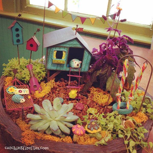 110 Best Fairy Gardens Images On Pinterest Fairies