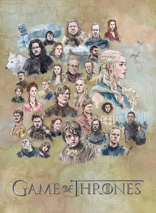 'Game of Thrones' Characters Fan Art