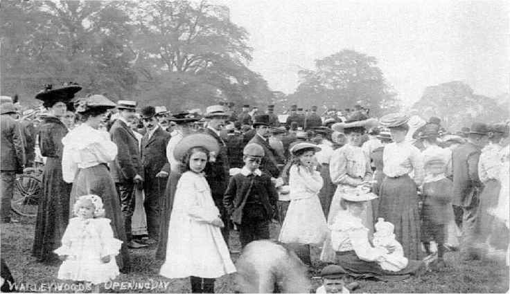 1906 Opening of Warley Woods as a public park