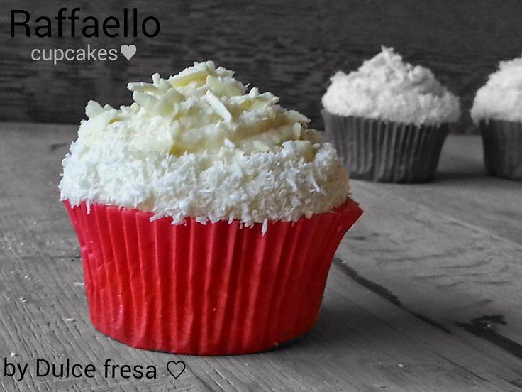 Dulce fresa: Raffaello cupcakes