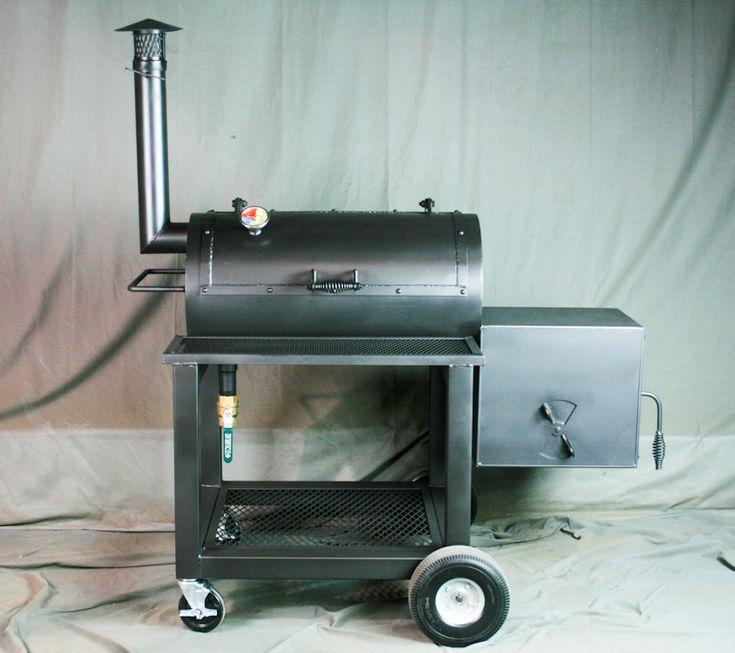 Offset Smoker by True Texas Pits - BBQ Smoker
