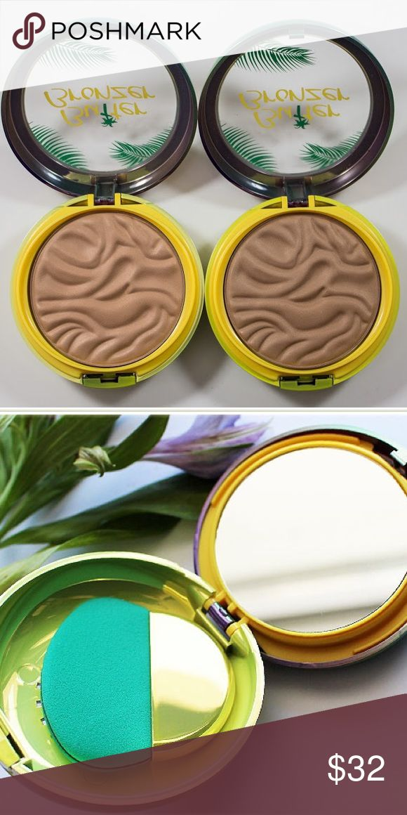 •NWT• Butter Bronzer Bundle! Physicians Formula knows how to do Bronzers! Both shades: Bronzer and Light Bronzer. Both brand new in the box, never opened, never used, still sanitary. These are amazing and have super great reviews! They have a tropical scent, too! They both come with a mirror and an applicator. Totally beautiful packaging. Physicians Formula Makeup Bronzer