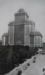 Plaza de España. (foto antigua)