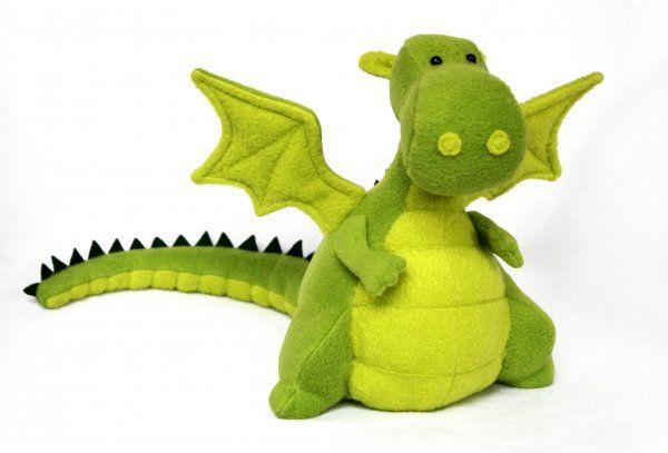 Adorable dragon softy plush pattern - http://www.patternmart.com/pattern/15912/Yoki+the+Dragon+soft+toy+sewing+pattern