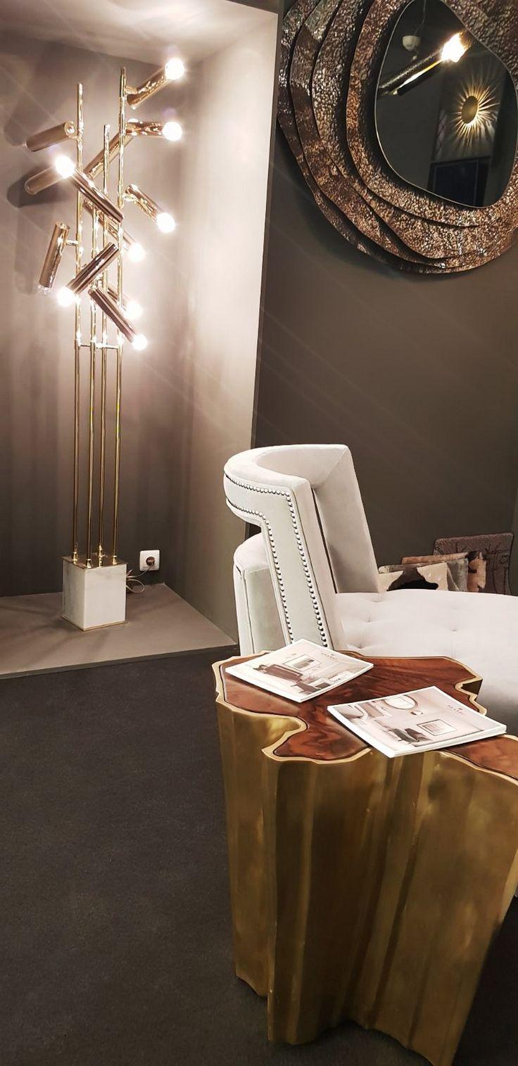 Bring the best furniture made through amazing  craftsmanship into you Interior Design Project   #handmadefurniture #modernfurnituredesign #contemporaryinteriors   more @ https://brabbu.com/blog/2018/03/discover-happening-light-building-2018/