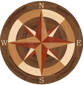 """Sea Compass North with N 36"""""""