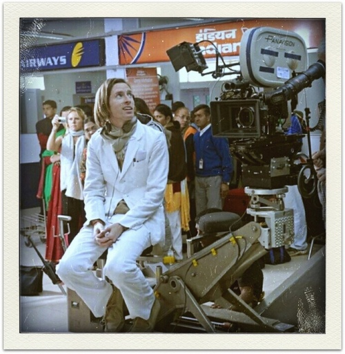 Wes Anderson on the set of The Darjeeling Limited http://www.flickr.com/photos/daughterofchaucer/5632332184/in/set-72157626375131819