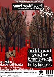 """Zwartkrijt labelnight 2014 """"Soort Zoekt Soort""""  Event info: http://www.nieuwenor.nl/event/soort-zoekt-soort3"""
