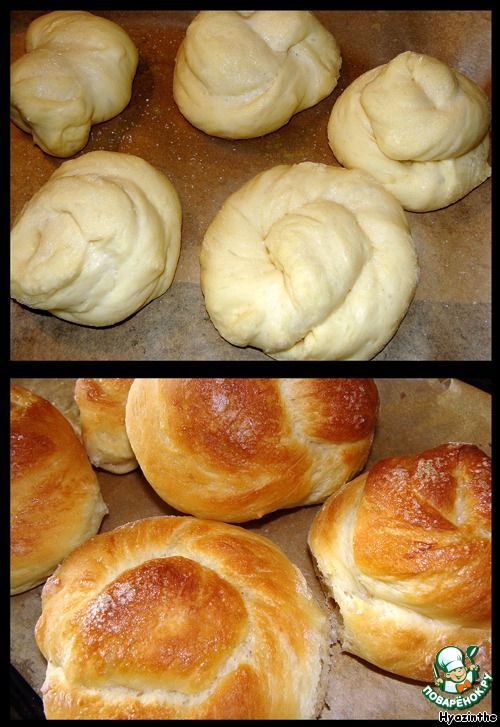 Кефирные булочки ингредиенты