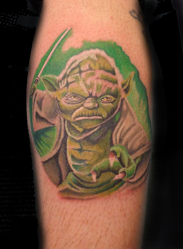 yoda kenny buck tattoos | Buck tattoo, Tattoos, Animal tattoo