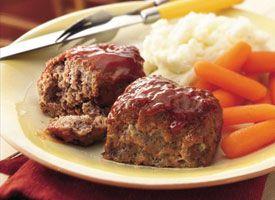 30 minute Mini Meatloaf!Meatloaf Recipe, Minis Meatloaves, Minis Dog Qu, Betty Crocker, 30Minute Minis, Meat Loaves, Meat Loaf, Favorite Recipe, Minis Meatloaf