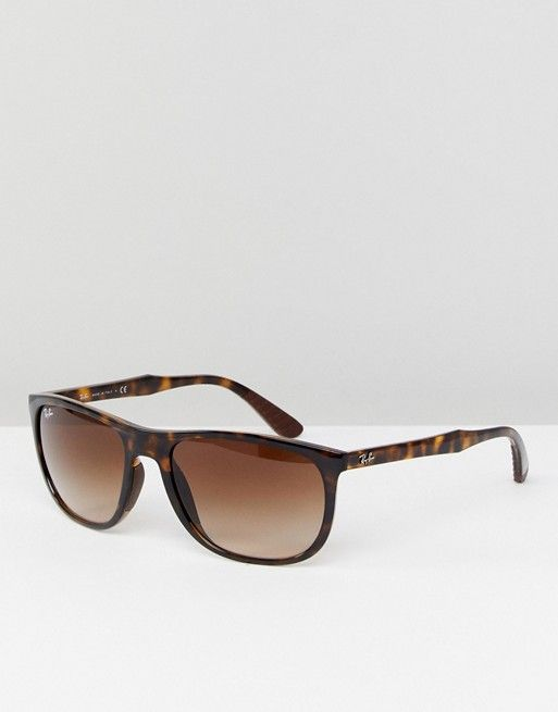 Ray-Ban 0RB4291 Wayfarer Sunglasses In Tort 58mm