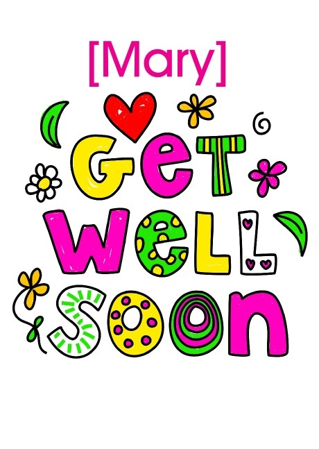 7 best Personalised Get Well Soon Cards images on Pinterest - get well soon card