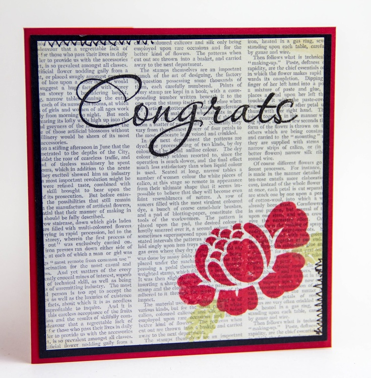 Take a NEWS Article someone was in/was proud of... Photocopy it, make ART on TOP of it and FRAME it for someone as a GIFT!!!