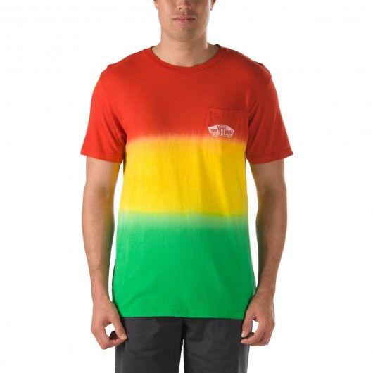 #rasta #vans #vansotw #vansoffthewall #tshirt #teeshirt #tee VANS Double Dip Red Pocket tee-shirt à poche rasta tie dye 35,00 € #skate #skateboard #skateboarding #streetshop #skateshop @playskateshop