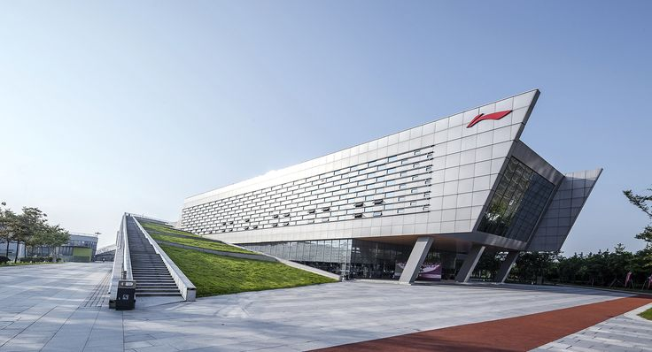 Gallery of Yangzhou Li Ning Sports Park / Australia PT Design Consultants Limited - 1