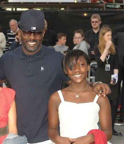 Idris Elba and his Daughter, Isan