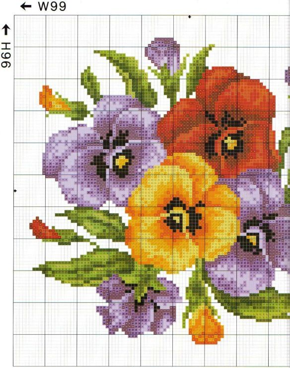 Part 1 Cross Stitch Pattern free