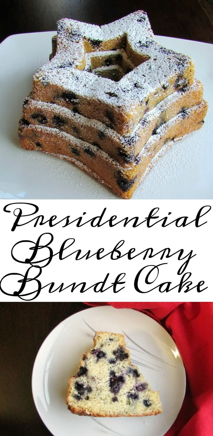 This Blueberry Bundt Cake is adapted from the recipe the Obama's Pastry Chef.  It is simple and delicious!