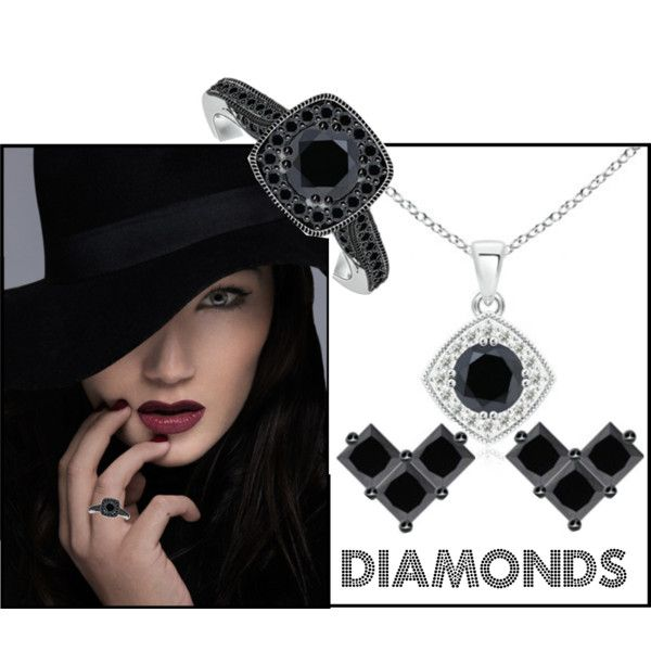 Let's Wear Diamond Jewelry by angarainc on Polyvore