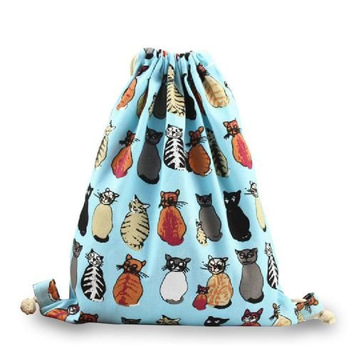 Meow Gym Sack    A must have for all cat lovers out there!