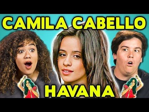 ADULTS REACT TO CAMILA CABELLO - HAVANA FT. YOUNG THUG - YouTube