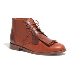 The Aberdeen Two-Tone Boot- Madewell
