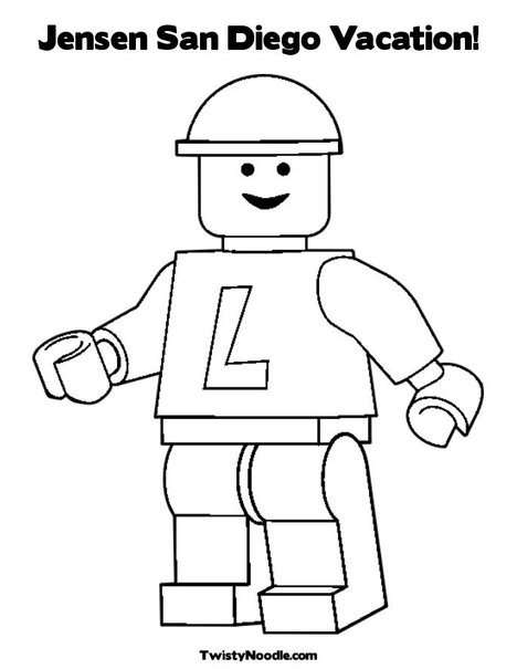 Coloring Pages Lego Car : Images about san diego on pinterest cars lego