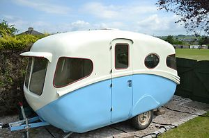 Vintage Classic Caravan Willerby Vogue 1956 Very Very Rare