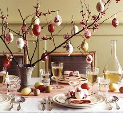 Come decorare la tavola per il giorno di #Pasqua