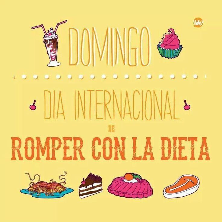 Fin de semana completo jajaja #Nutrición y #Salud YG > nutricionysaludyg.com