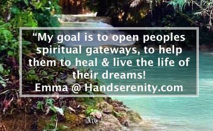 Emma @  Handserenity.com Let's heal the world together, we want to help you be the best version of you!