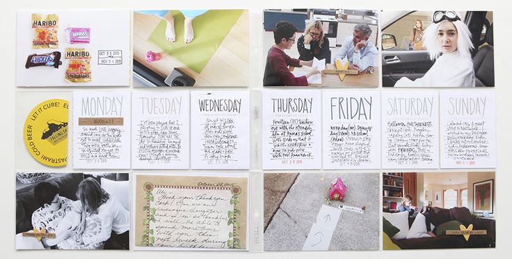 Ali Edwards | Blog: Project Life® 2015 | Week Forty-Three - It doesn't have to be hard :)