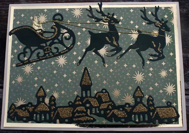 Marianne Creatables Christmas Scene: Christmas Cards, Christmas Inspiration, Christmas Crafty, Cards Christmas, Marianne Creatabl, Creatabl Christmas, Marianna Design, Christmas Scenes, Design Joy