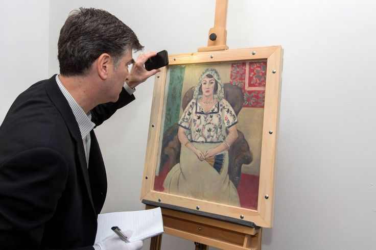 """""""Femme Assise,"""" which was looted by the Nazis and discovered in the Munich apartment of Cornelius Gurlitt in 2012, has been returned to the descendants of Paul Rosenberg."""