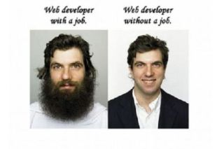 Webdeveloper job humor
