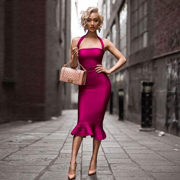 Bandage Elegant Dress