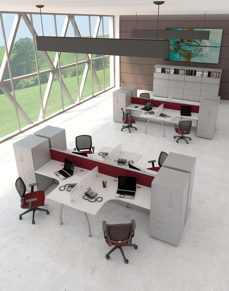Muebles de oficina con la más alta calidad #PMSteele #EspasetIII