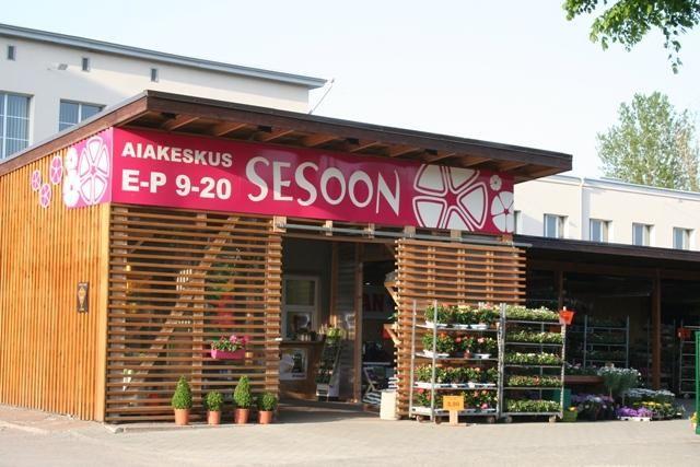 Jos vierailet Rocca al Maren kauppakeskuksessa Sesooniin poikkeat kätevästi samalla matkalla. Perheyritys tarjoaa Rannamõisa teellä paitsi mukavan valikoiman puutarhakasveja myös asiantuntevaa palvelua. #eckeröline #sesoon