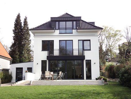 Stadtvilla modern mit anbau  Die besten 20+ Stadtvilla Ideen auf Pinterest | moderner Kaminöfen ...